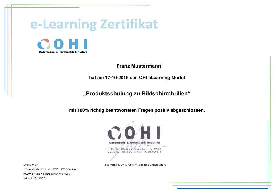 OHI eLearning