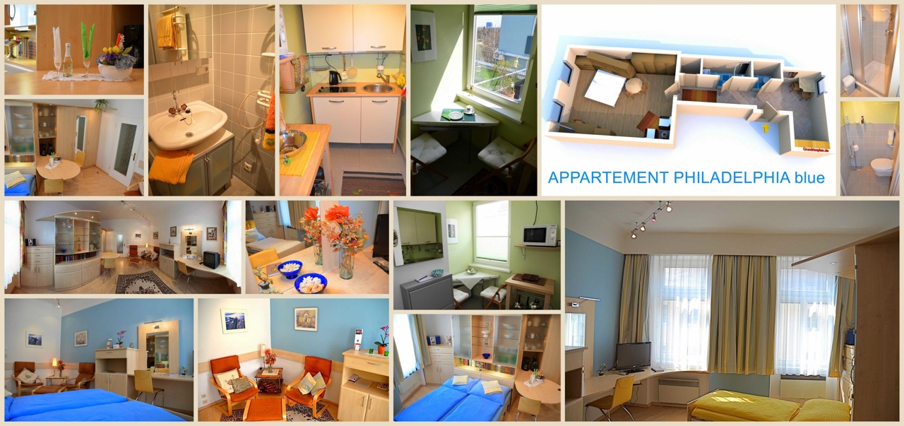 Appartment Philadephia Blue