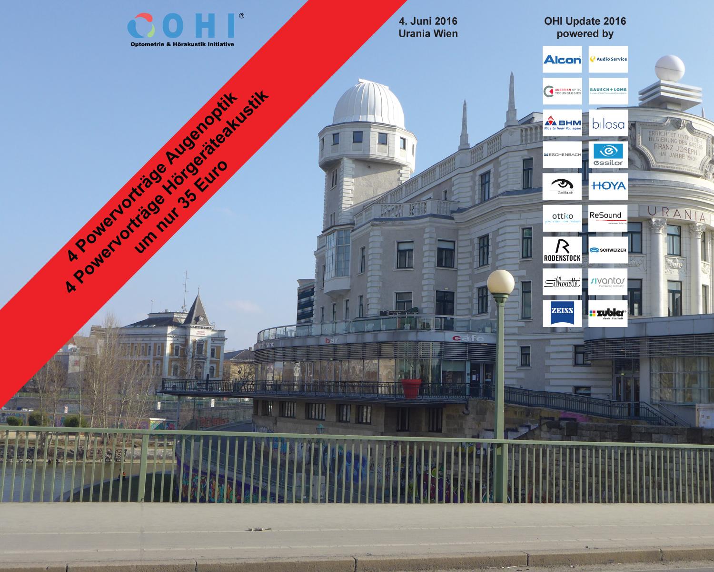 OHI Update 2016 – die Vorträge