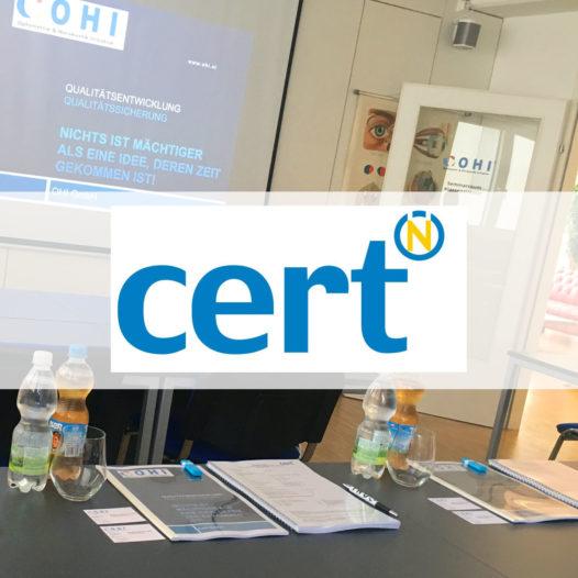 OHI ist zertifizierter Bildungsträger