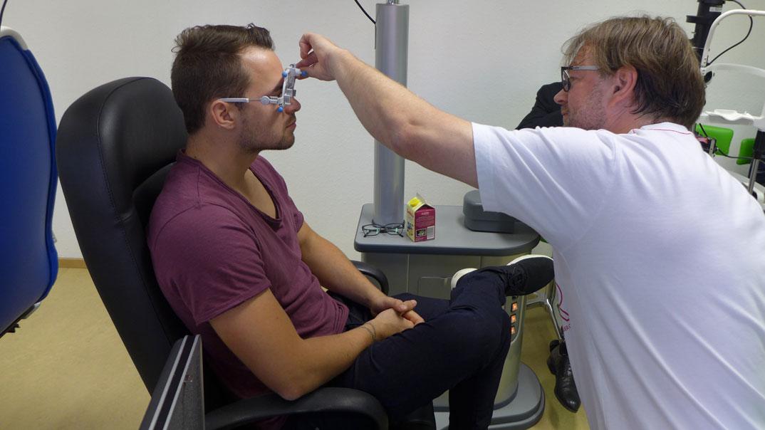 Vorbereitungslehrgang zur Gesellenprüfung Augenoptiker