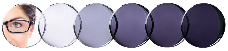 Essilor Eye Protect Transitions Amethyst