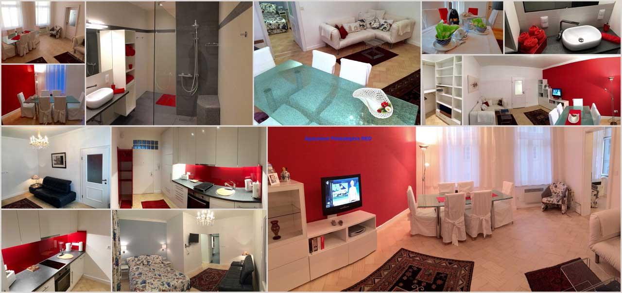 Philadelphia Red- 2-Raum Apartment