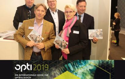 Besuchen Sie die OHI auf der opti 2019 in München