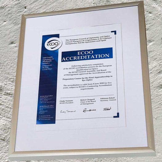 ECOO akkreditiert OHI im EQO Programm
